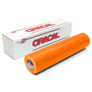 "Oracal 651 Glossy Vinyl 24"" x 150 FT Roll - Pastel Orange Oracal Vinyl Oracal"