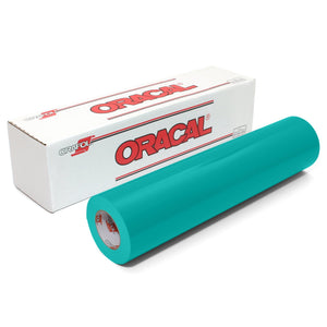 "Oracal 651 Glossy Vinyl 24"" x 150 FT Roll - Turquoise Oracal Vinyl Oracal"