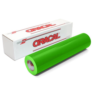"Oracal 651 Glossy Vinyl 24"" x 150 FT Roll - Yellow Green Oracal Vinyl Oracal"