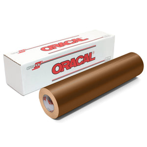 Oracal 651 Glossy Vinyl Rolls - Metallic Copper Oracal Vinyl Oracal