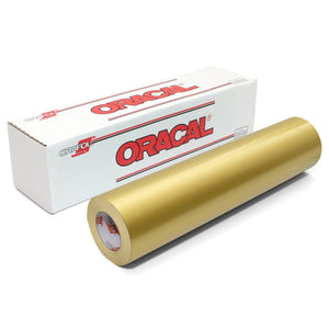 Oracal 651 Glossy Vinyl Rolls - Metallic Gold Oracal Vinyl Oracal