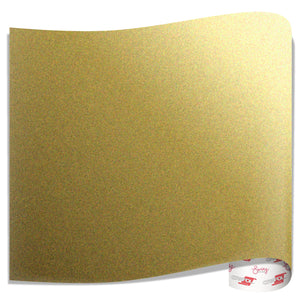 Oracal 651 Glossy Vinyl Sheets - Metallic Gold - Swing Design