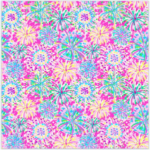 "Oracal 651 Patterned Vinyl - ""Boom Boom Pink"" - Swing Design"