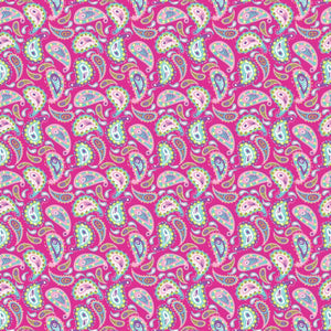 "Oracal 651 Patterned Vinyl - ""Paisley Pink"" - Swing Design"