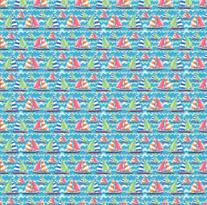 "Oracal 651 Patterned Vinyl - ""Smooth Sailin"" - Swing Design"