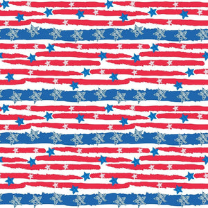 "Oracal 651 Patterned Vinyl - ""Stars And Stripes"" - Swing Design"