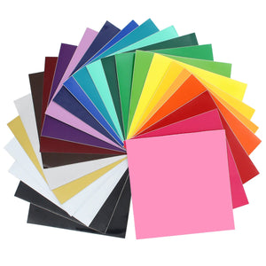Oracal 651 Vinyl Bundle 12 x 12 - 24 Assorted Colors - Swing Design