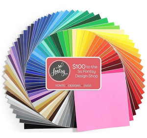 "Oracal 651 Vinyl Bundle 12"" x 12""- 61 Assorted Colors - Swing Design"