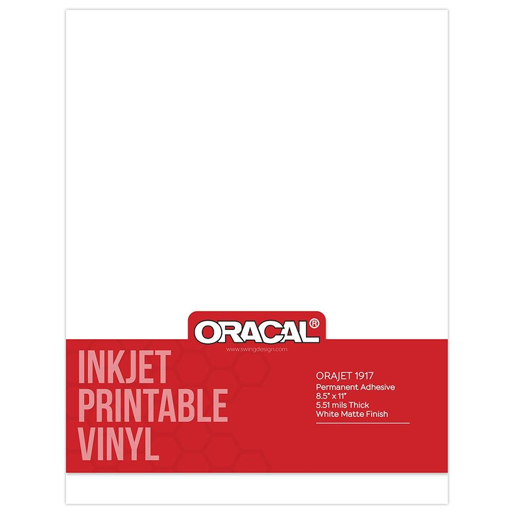 Oracal Inkjet Printable Vinyl Permanent Adhesive Vinyl Pack Swing Design