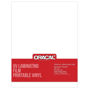 Oracal UV Laminating Film for Printable Vinyl Sheets - Swing Design