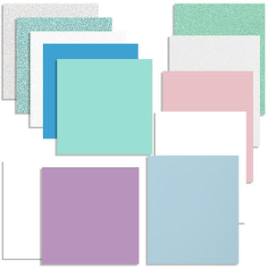 Pastel Spring Vinyl & Heat Transfer Starter Pack - 12 Sheets - Swing Design