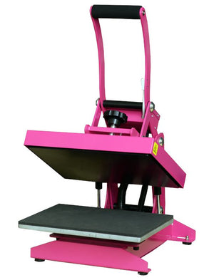 "Pink Craft Heat Press 9"" x 12"" - Swing Design"