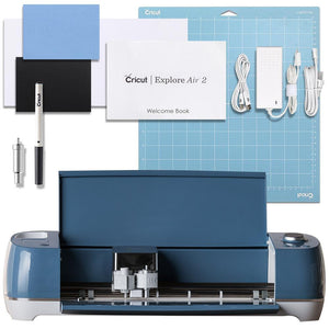 Refurbished Cricut Denim Explore Air 2 Cutting Machine - Swing Design
