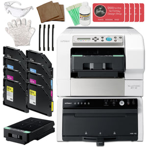 Roland VersaSTUDIO BT-12 Direct-to-Garment Printer w/ Double Ink Bundle Eco Printers Roland