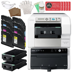 Roland VersaSTUDIO BT-12 DTG Printer w/ Double Inks & Trays Bundle Eco Printers Roland