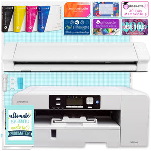 "Sawgrass UHD Virtuoso SG1000 Sublimation Printer & Cameo 4 PRO 24"" Bundle Silhouette Bundle Silhouette"