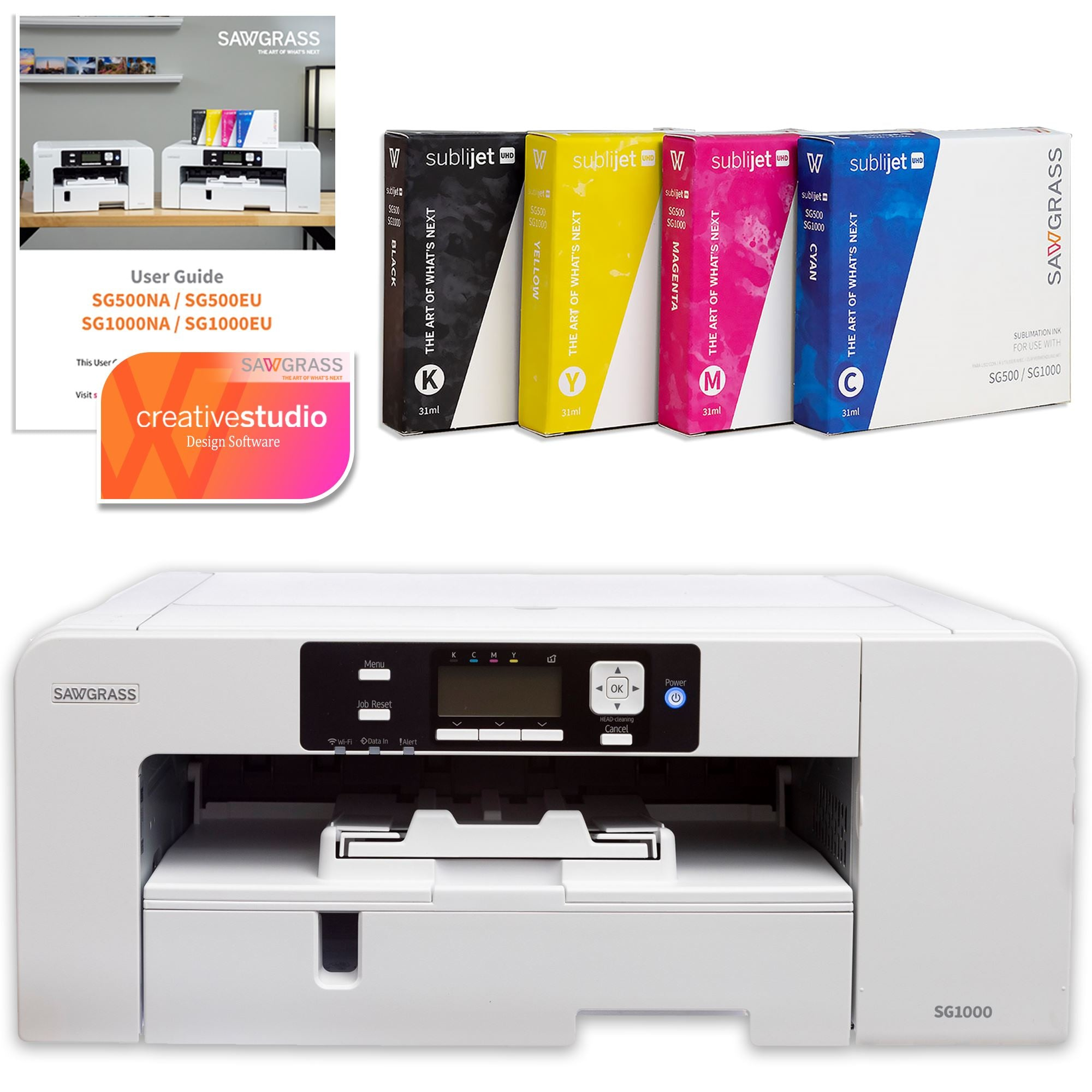 Best Sawgrass sublimation printer for small business: Sawgrass Virtuoso SG1000