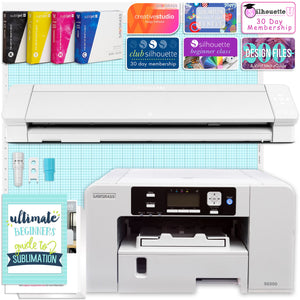 "Sawgrass UHD Virtuoso SG500 Sublimation Printer & Cameo 4 PRO 24"" Bundle Silhouette Bundle Silhouette"