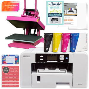 Sawgrass UHD Virtuoso SG500 Sublimation Printer & Heat Press Bundle Sublimation Bundle Sawgrass