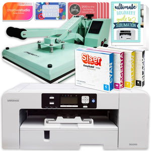 "Sawgrass Virtuoso SG1000 Sublimation Printer & 15"" Heat Press Bundle Sublimation Bundle Sawgrass"