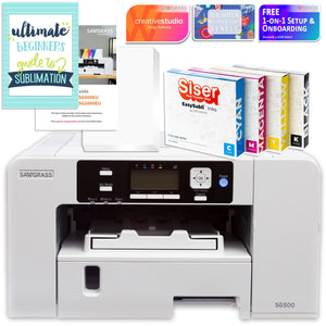"Sawgrass Virtuoso SG1000 Sublimation Printer & Cameo 4 PRO 24"" Bundle Silhouette Bundle Silhouette"