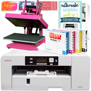 Sawgrass Virtuoso SG1000 Sublimation Printer & Heat Press Bundle Sublimation Bundle Sawgrass