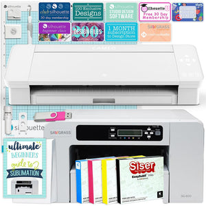 Sawgrass Virtuoso SG400 Sublimation Printer & Cameo 4 Bundle Silhouette Bundle Silhouette