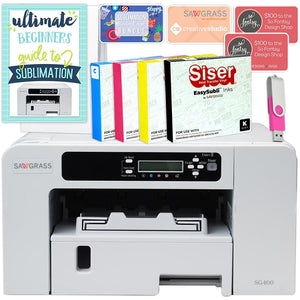 Sawgrass Virtuoso SG400 Sublimation Printer Starter Bundle - Swing Design