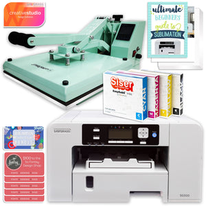 "Sawgrass Virtuoso SG500 Sublimation Printer & 15"" Heat Press Bundle Sublimation Bundle Sawgrass"