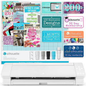 "Sawgrass Virtuoso SG500 Sublimation Printer & Cameo 4 PLUS 15"" Bundle Silhouette Bundle Silhouette"