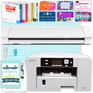 "Sawgrass Virtuoso SG500 Sublimation Printer & Cameo 4 PRO 24"" Bundle Silhouette Bundle Silhouette"