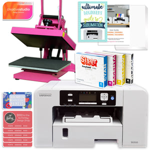 Sawgrass Virtuoso SG500 Sublimation Printer & Heat Press Bundle Sublimation Bundle Sawgrass