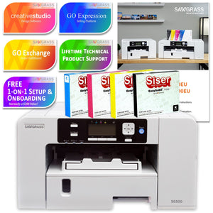 Sawgrass Virtuoso SG500 Sublimation Printer & Ink Bundle Sublimation Bundle Sawgrass