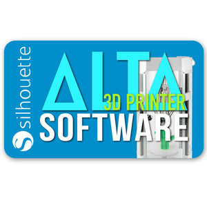 Silhouette Alta 3D Printer Software Latest Version - Swing Design