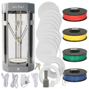 Silhouette Alta Plus 3D Printer & 4 Filaments Bundle 3D Printer Bundle Silhouette
