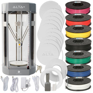 Silhouette Alta Plus 3D Printer & 7 Filaments Bundle 3D Printer Bundle Silhouette