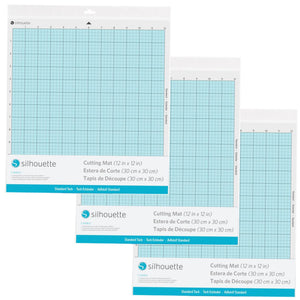 "Silhouette Cameo 12"" x 12"" Standard Cutting Mat - 3 Pack Silhouette Silhouette"