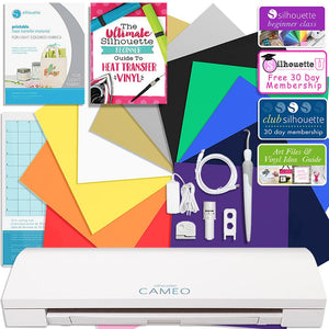 Silhouette Cameo 3 Bluetooth Siser Easyweed Heat Transfer Bundle - Swing Design