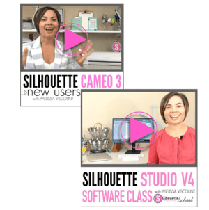 Silhouette Cameo 3 Online Beginner Class AND Silhouette Studio V4 Software Class by Silhouette School - Swing Design