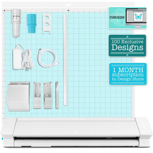 "Silhouette Cameo 4 PRO - 24"" Heat Press Bundle w/ 8-in-1 Heat Press Silhouette Bundle Silhouette"