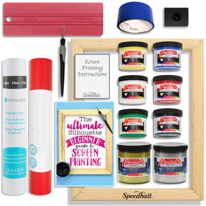Silhouette Cameo Screen Printing Bundle with Extra Paints - Swing Design