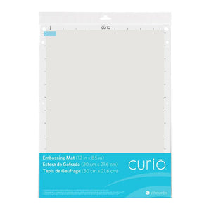 Silhouette Curio Embossing Mat 8.5 inch x 12 inch Silhouette Silhouette