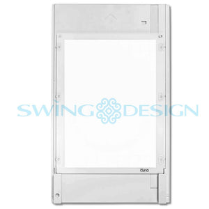 "Silhouette Curio Large Base Set (12"") - Swing Design"