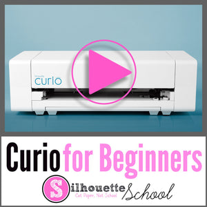 Silhouette Curio Online Beginner Class by Silhouette School - Swing Design