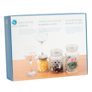 Silhouette Glass Etch Starter Kit - Swing Design