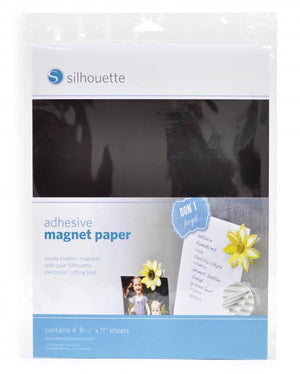 Silhouette Magnet Paper - Adhesive - Swing Design