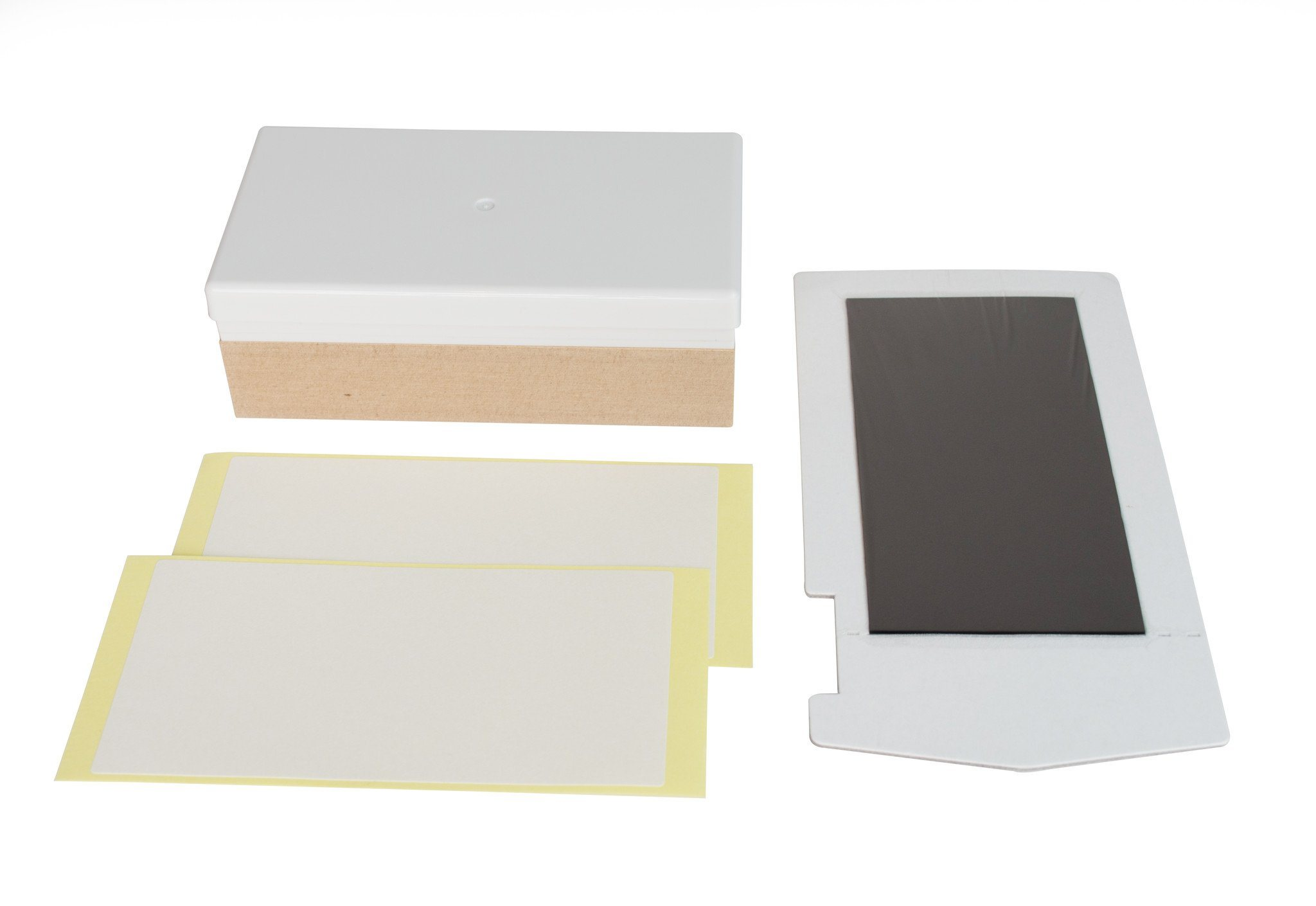 Multi-Colour X-Large Silhouettes 45 x 45 mm Mint Stamp Sheet