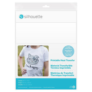 Silhouette Printable Heat Transfer For Light Fabrics - Swing Design