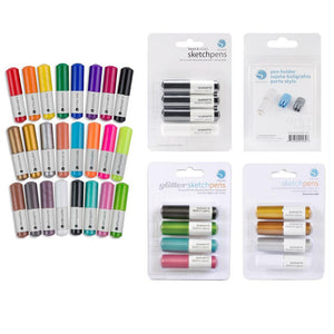 Silhouette Sketch Pen Bundle, Includes All Pen Packs Plus Pen Holder - Swing Design