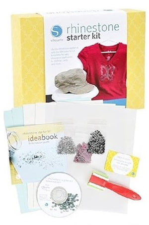 Silhouette Starter Kit Bundle with 4 Starter Kits, Sketch Pens, Vinyl, and More - Swing Design